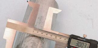 Измерение диаметра труб