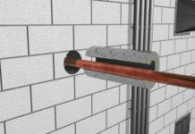 Труба в стене