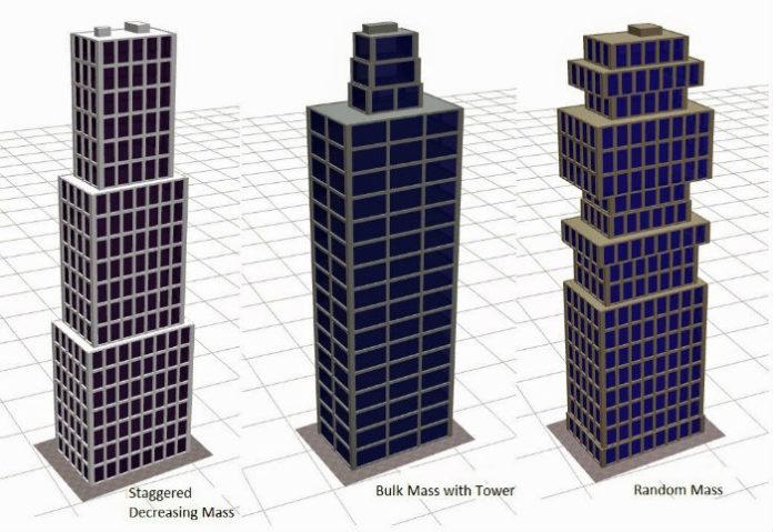 Виды форм зданий